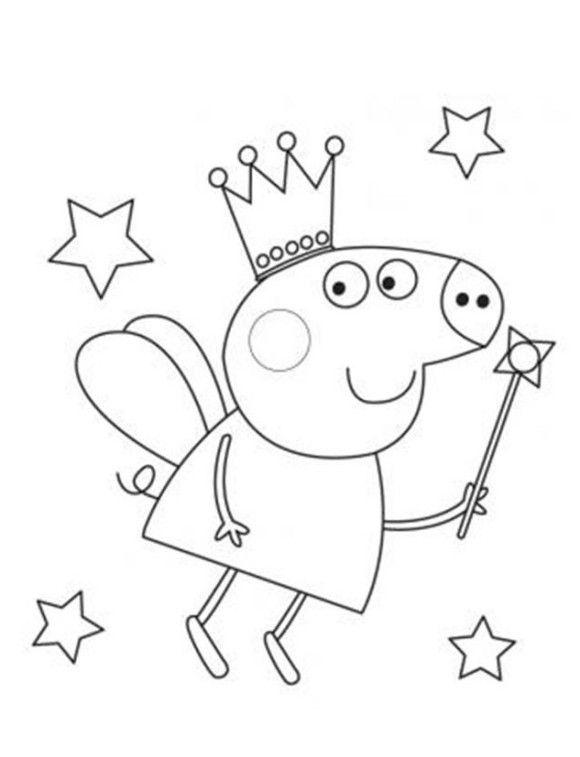 Dibujos para colorear Peppa Pig - Dibujos Animados