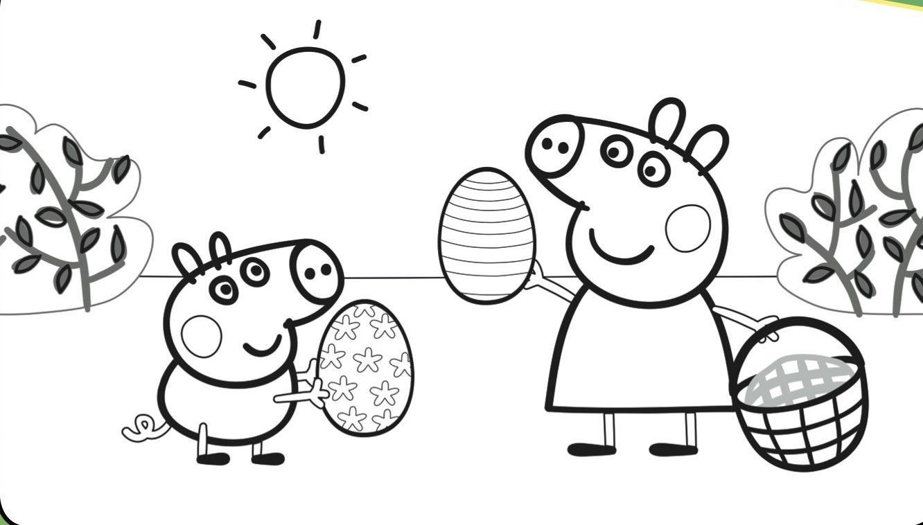 Dibujos para colorear peppa pig dibujos animados for Coloring pages peppa pig