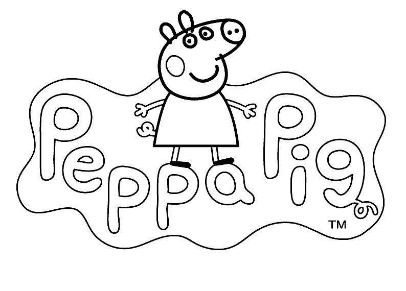Dibujos Para Colorear Peppa Pig Dibujos Animados