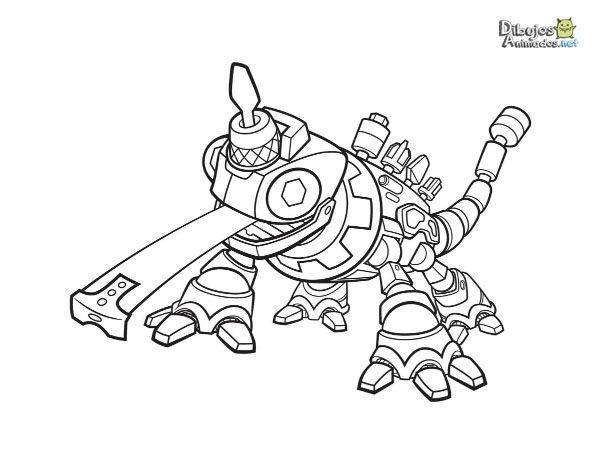 Dibujos para colorear dinotrux dibujos animados for Dinotrux coloring pages