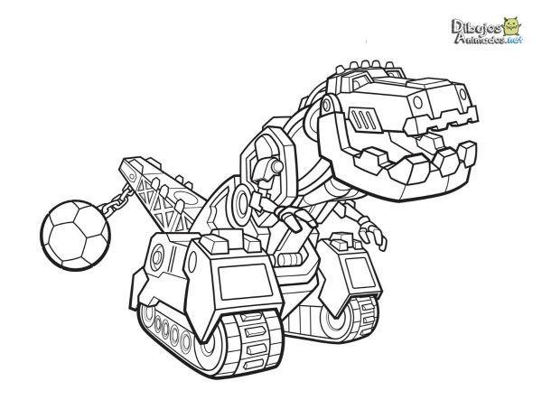 Dibujos Para Colorear Dinotrux