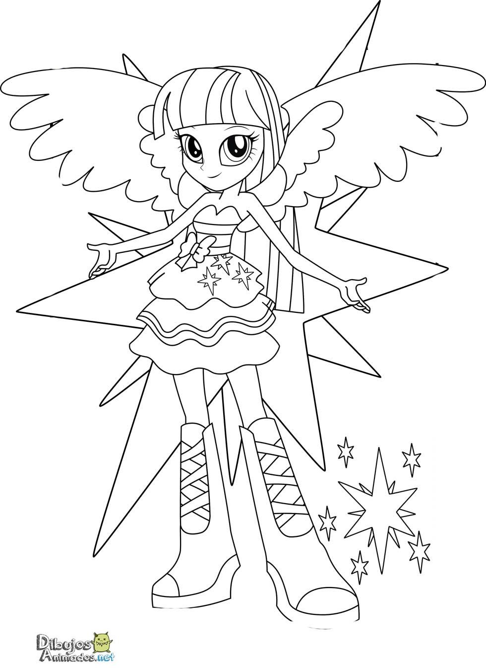Beautiful Coloriage My Little Pony Equestria Girl Unique Coloriage