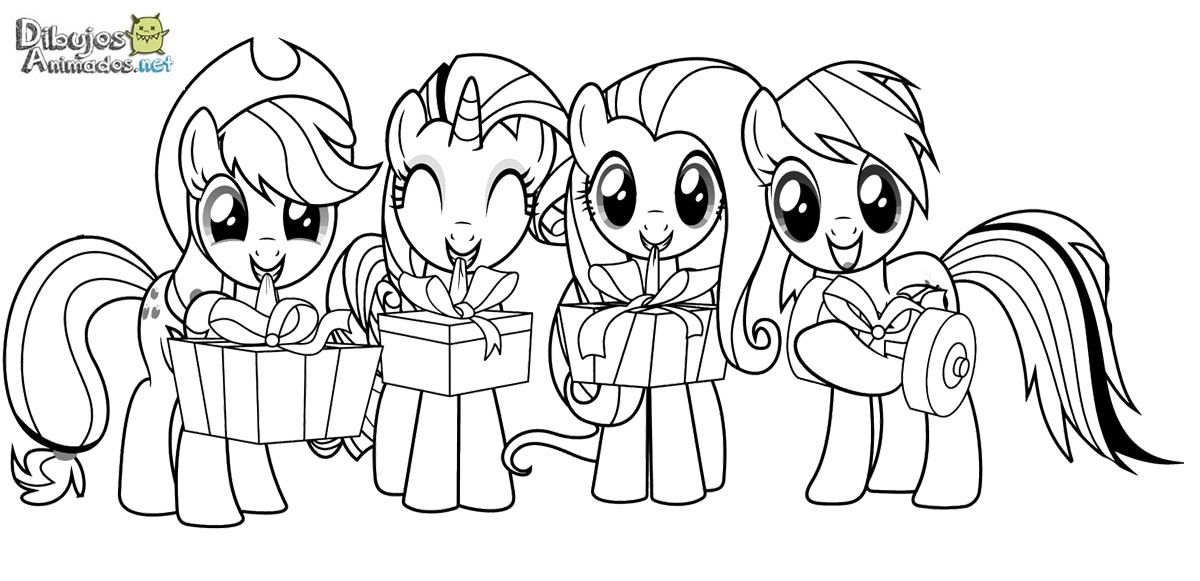 My Little Pony Wonderbolts Coloring Pages : Dibujos para colorear mi pequeño pony animados