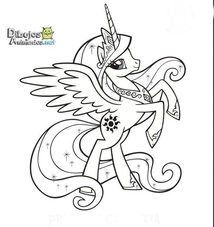 Dibujos Para Colorear Mi Pequeño Pony Dibujos Animados