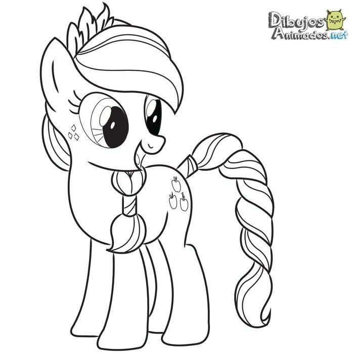 My Little Pony Coloring Pages Full Size : Dibujos para colorear mi peque�o pony animados