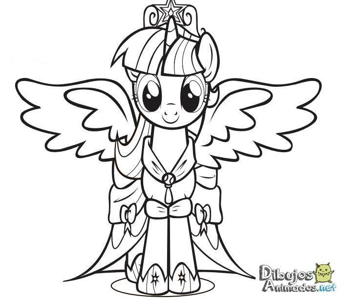 Dibujos para colorear Mi pequeño Pony - Dibujos Animados