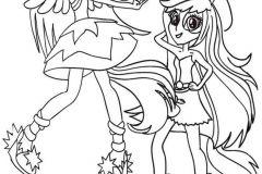 Colorear Mi litlle pony