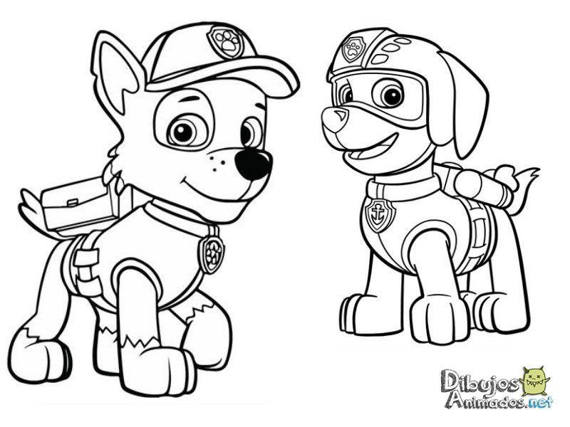 Dibujos Para Colorear Patrulla Canina Dibujos Animados