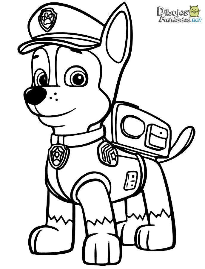 Dibujos para colorear Patrulla Canina - Dibujos Animados