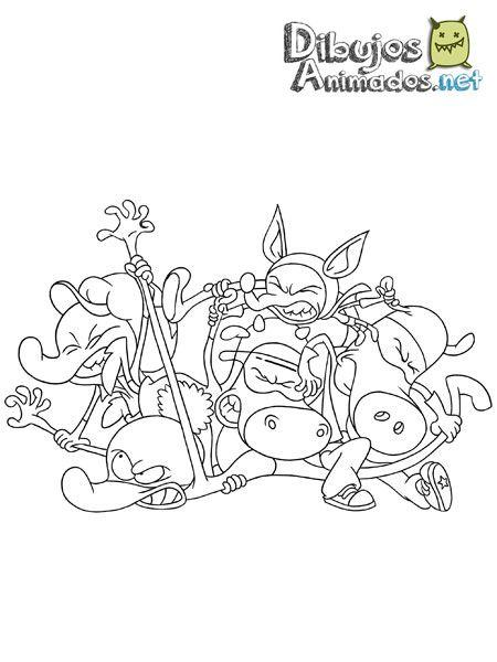 Plantillas para colorear de los superminiheroes dibujos animados - Coloriage mini force ...