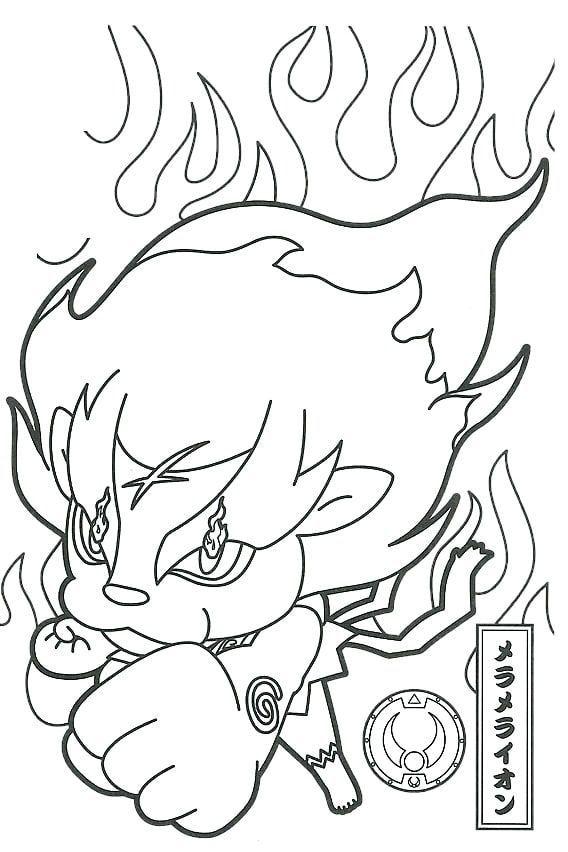 Yo Kai Watch Personajes Juguetes Y Plantillas Para Colorear