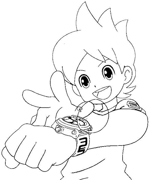 Yo-kai Watch - Personajes, Juguetes y plantillas para colorear ...