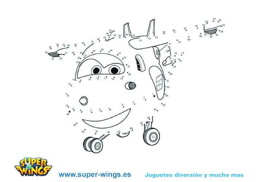 Dibujos Para colorear Super Wings   Manualidades y Actividades Super ...
