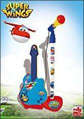 guitarra-y-microfono-super-wings