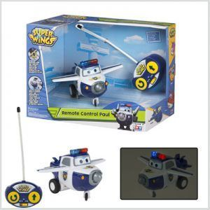 Paul Super Wings juguete radiocontrol