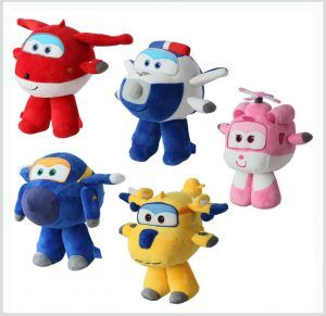 Peluches Super Wings