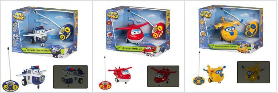 Juguetes de radio control Super Wings