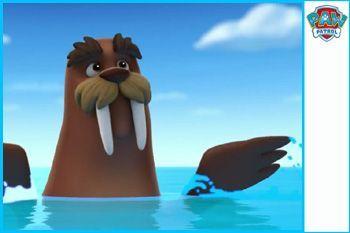Wally Patrulla Canina Dibujos Animados