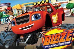 personajes de blaze y los monster machines nombres de los coches