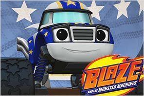 personaje darington blaze y los monster machines