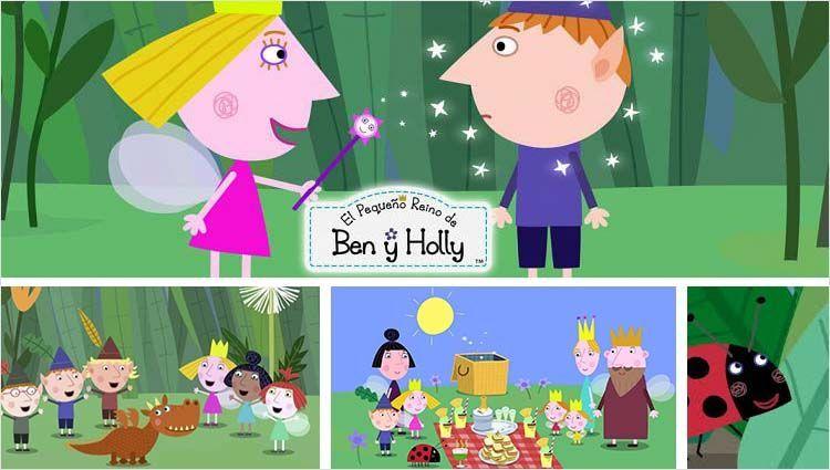 Dibujos De Ben Y Holly Para Colorear Imprimir: El Pequeño Reino De Ben Y Holly