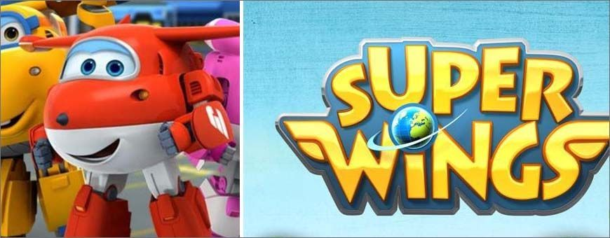 dibujos animados super wings