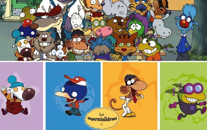 Serie de dibujos los superminiherores
