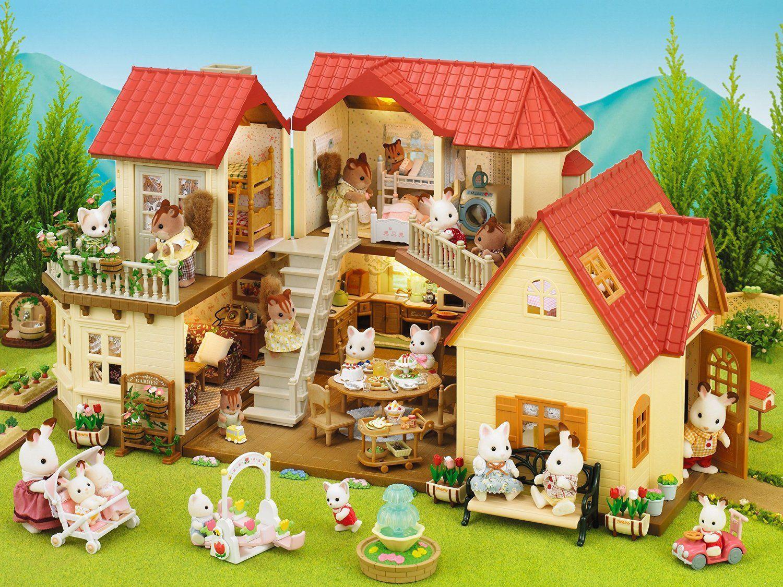 Juguetes aldea del arce sylvanian families tienda for Casas de juguete para jardin de segunda mano