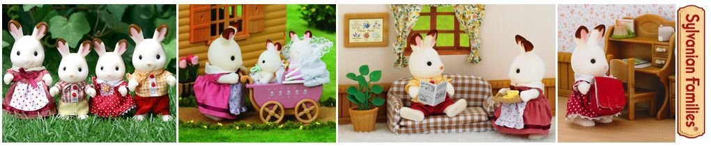familia-conejo-chocolate-sylvanian-families