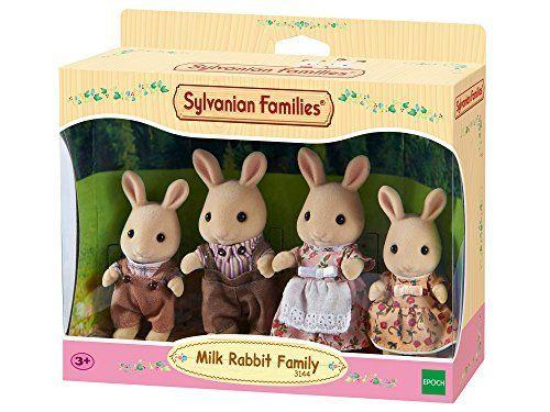 Sylvanian Families  Familia de conejos set de juego color