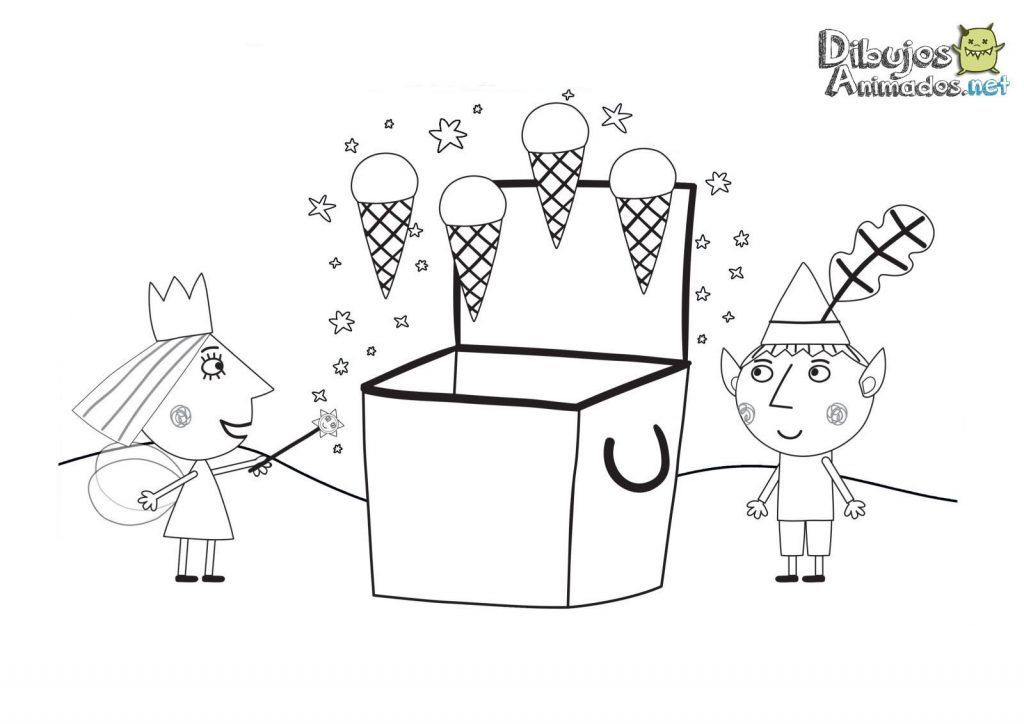 Ben Y Holly Para Imprimir Helados Dibujos Animados