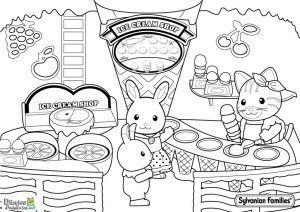 colorear-animales-comiendo-helados