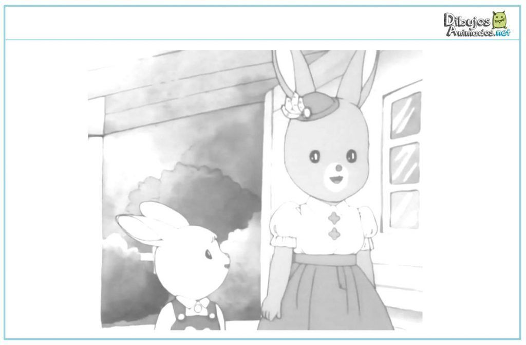 colorear-la-aldea-del-arce-anne-y-hermano-conejo
