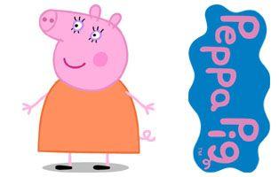 Personajes Peppa Pig Mama Pig Dibujos Animados