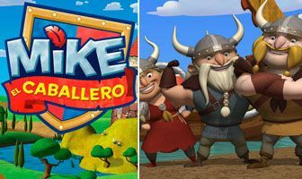 Personajes Mike Vikingos