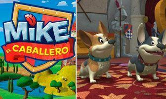 Personajes Mike perritos reina