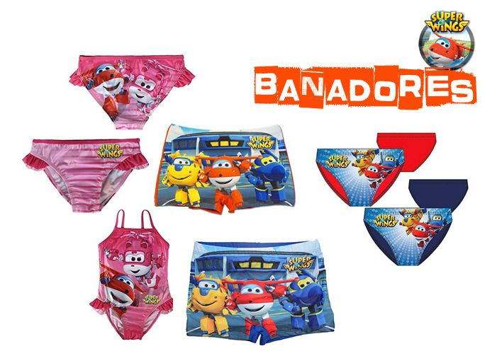 Bañadores Super Wings