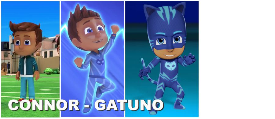 Personajes Pj Masks Héroes En Pijamas Dibujos Animados