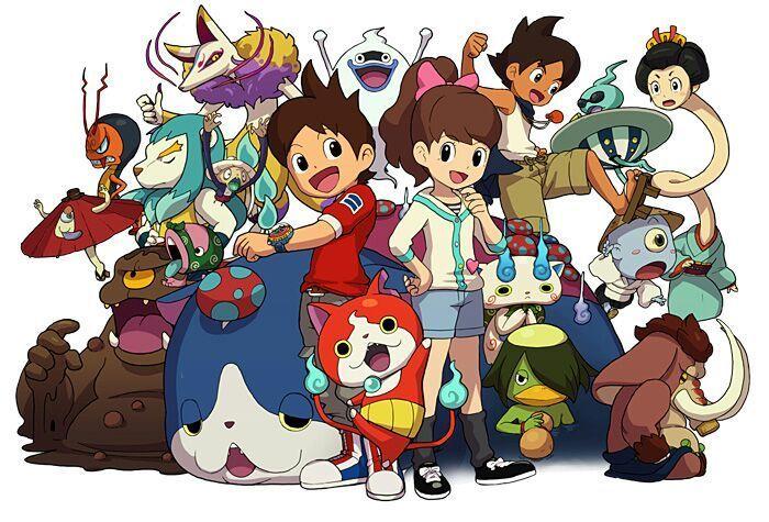 Yo-kai Watch – Personajes, Juguetes y plantillas para colorear