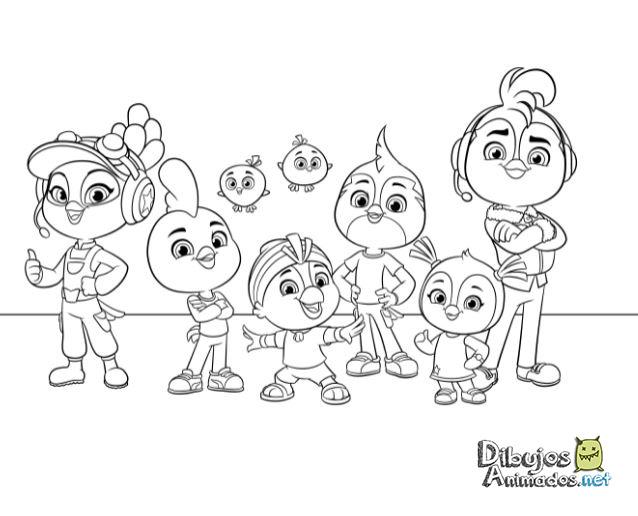 Dibujos Para Colorear Dibujos Animados Para Para Para Para: Dibujos Colorear Top Wing 5