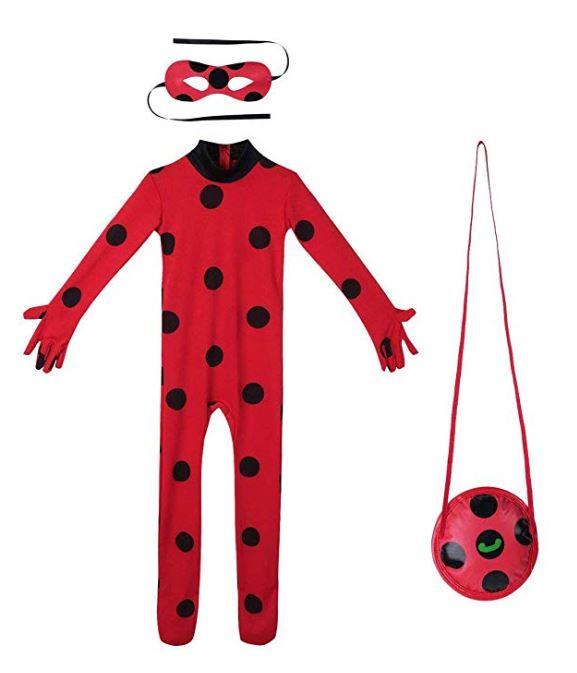 Disfraz completo de ladybug