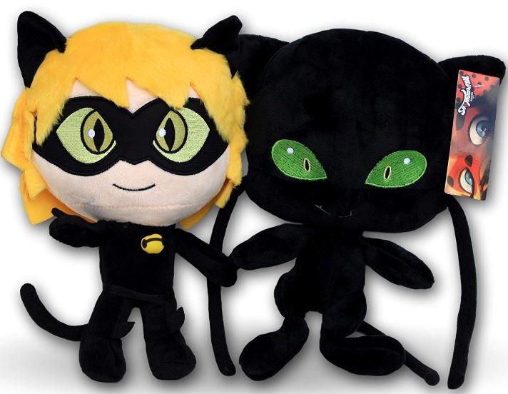 Peluche Cat Noir y Plagg