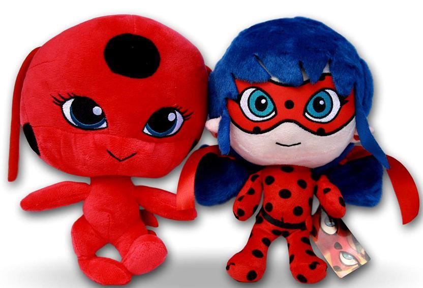 Peluche Ladybug y Tikki