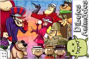personajes dibujos animados  los autos locos