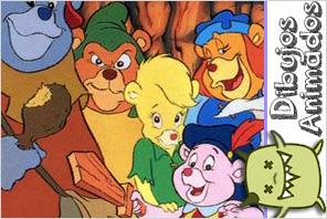 personajes dibujos animados  ositos gummi