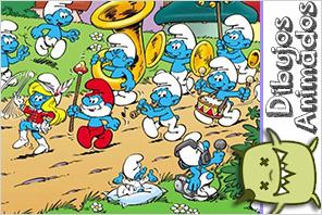 personajes dibujos animados  pitufos