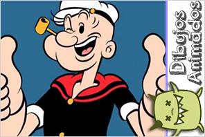 personajes dibujos animados  popeye