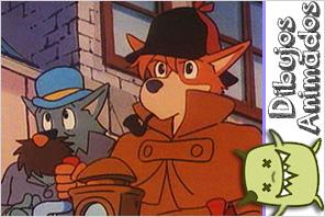 personajes dibujos animados  serlock holmes