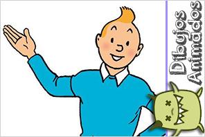 personajes dibujos animados tin tin