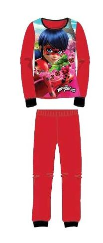 pijama ladybug rojo niña